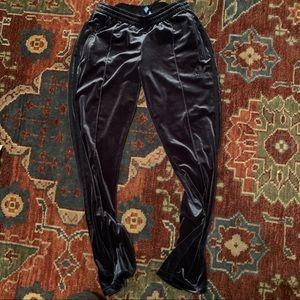 Adidas Originals velour firebird track pants